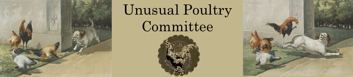 Unusual Poultry Committee banner